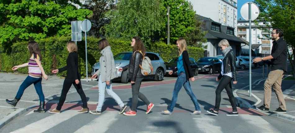 Abbey road v Mariboru